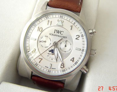 IWC PILOTS AUTOMATIC WHITE - Ø 46mm.